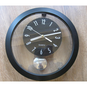 88cd98d3ef5f Reloj De Pared Con Pendulo Modernos - Relojes De Pared en Mercado ...