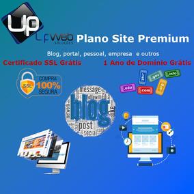 Criação De Site, Blog, Portal, Site+blog, Empresarial