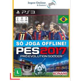 Ps3 Pes 2017 Mídia Digital Jogo Cód
