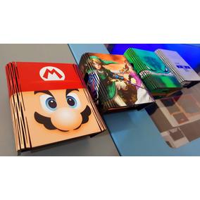 Case Raspberry Pi3 Em Mdf Com Cooler Super Mario Sublime