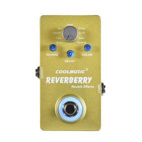 Pedal Reverb Reverberry Coolmusic 9 Efeitos Promoção Queima