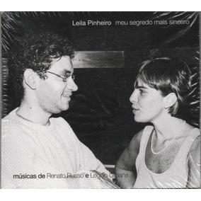 Leila Pinheiro Cd Meu Segrado Mais Sincero ( Renato Russo )