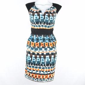Maggi London Vestido Multicolor L Msrp $