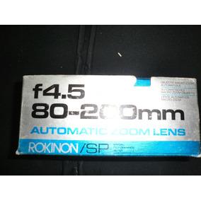 Zoom Rokinon Sp F4.5 80-200mm (usado)