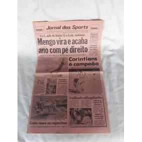 Jornal Dos Sports Flamengo Corinthians 17-12-1990