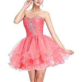 2ceea4d5fc Vestido Curto Bordado Festa De 15 Anos Debutante Princesa