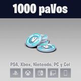 1000 Pavos De Fortnite