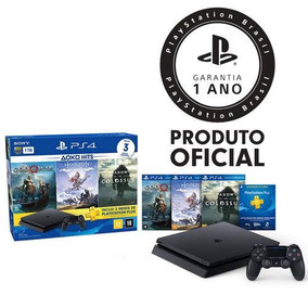 Vídeo Game Console Sony Ps4 Slim Br Hits Bundle 4