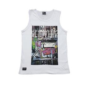 Camiseta Regata Chronic Estampa Grafite Original Cod 29 5dfffea06dc