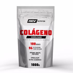 Colágeno Hidrolisado Em Pó - 1kg - Rev Nutrition - Sem Sabor