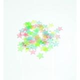 Estrellas Techo Fluorescente Paquete 100 Brillan Obscuridad