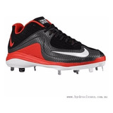 Spikes Beisbol Nike Mvp Pro Metal Neg Rojo # 28.5 Mx Oferta