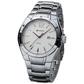 Relógio Curen Original Prata