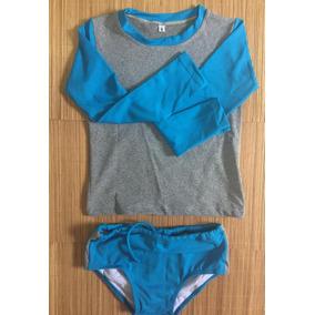 Conjunto Praia Com Proteção Uv - Camiseta E Sunga Infantil. 2 cores 7aa952f29ef