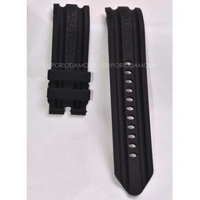 fb1ec2e7071 Pulseira Relogio Nautica 24mm - Relógios no Mercado Livre Brasil