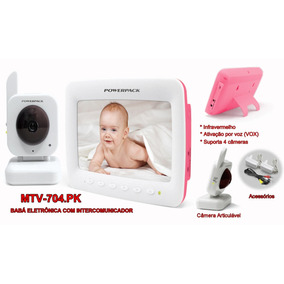2f30d8693 Baba Eletronica Powerpack Mtv 704 - Babá Eletrônica para Bebê no ...
