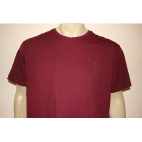 Camiseta Masculina Básica Polo Ralph Lauren Diversas Cores 67d3f787972