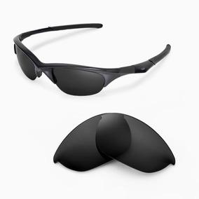 3c4c6eb2e0c09 Oakley Half Jacket Novo Jet Black Com Preço Promocional - Óculos no ...