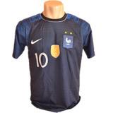 Camisa França Duas Estrelas Copa Do Mundo Mbappe Nova Oferta