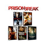 Prison Break. Temporada 1-5 Dvd + Pelicula