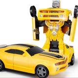 Auto Deportivo Transformer Luz Sonido Y Mov Ploppy 368927