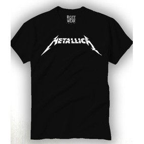 Metallica Hardwired Playera Hombre Rott Wear Envío Gratis