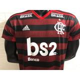 Camisa Flamengo 19/20 Com Todos Patrocínios (envio Imediato)