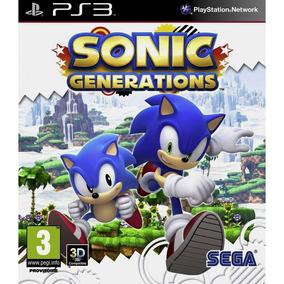 Sonic Generations Ps3 - Mídia Digital