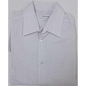7c633305a4 Camisa Social Calvin Klein - Camisa Social Manga Longa Masculino no ...