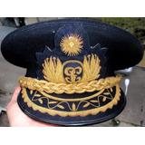 Gorra Policial Guerra Peru Ecuador 1941 Bordado Hilo Oro f1a34f61441