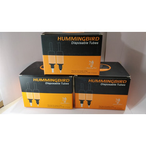 Caja De Punteras Descartables Tattoo Hummingbird X20 Rt Ft D
