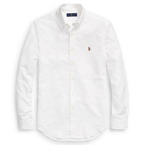 Camisa Polo Ralph Lauren Slim Fit Oxford 4f13c2c6f8a