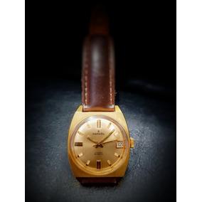 a3b29e45176 Relógio Suíço Sametic Corda Plaquê Caixa 30 Mm Impecável