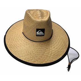 48b18e76926e5 Chapéu De Palha Quiksilver - Chapéus para Masculino no Mercado Livre ...