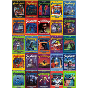 Coleção Goosebumps 25 Livros