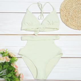 8f97eefd5b30 Trajes De Baño Cintura Alta Bikinis Puebla - Trajes de Baño de Mujer ...
