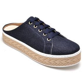 85fe042fd7f Sapato Feminino Com Calcanhar Aberto - Sapatos no Mercado Livre Brasil