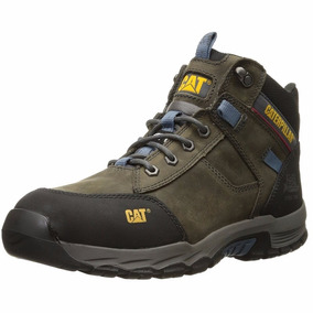 Botas Caterpillar Safeaway Mid St Casquillo Metal Work Gris