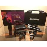Microfono Shure Doble Dual Inalambrico Sm 58