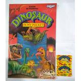 Album De Figuritas Dinosaur In My Pocket Vacio + Sobre Lleno