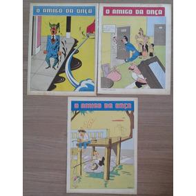 Lote Com 03 Páginas De O Amigo Da Onça, Péricles, Anos 50