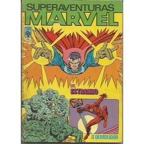Superaventuras Marvel Nº 6 Ed. Abril Ano 1982