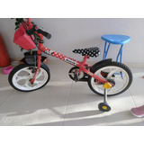 Bicicleta Caloi Infantil Minnie