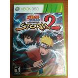 Juego Naruto Shippuden Ninja Storm 2 Xbox 360 Somos Tienda