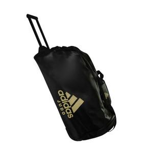 Mala Com Rodinhas adidas Judo Trolley Bag Pu Preto/dourado