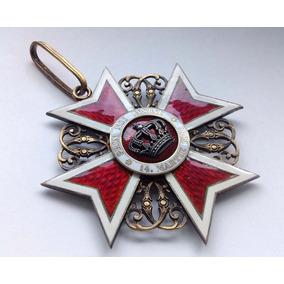 Ordem Da Coroa Da Romênia Tipo 1, Grau Comandante