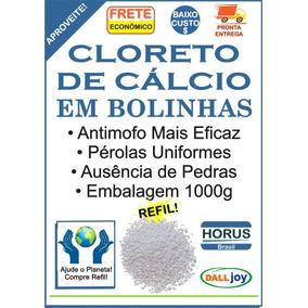 Cloreto De Cálcio Bolinhas 1 Kg Melhor Antimofo + Brinde Dj