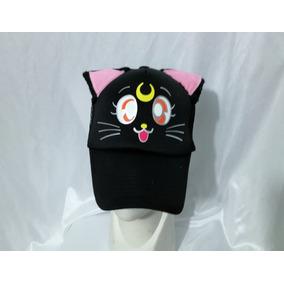 Gorra Sailor Moon Luna Gato Negro Oregitas
