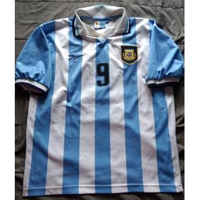 Jersey Playera Asociación Del Fútbol Argentino Albiceleste L c77e85c8e0a81