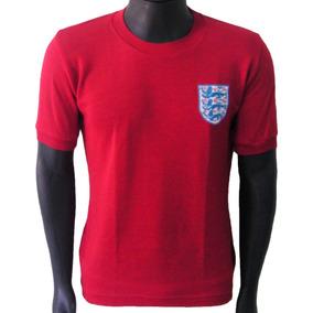 2f202b9014b18 Camisa Rugby Inglaterra Vermelha - Camisetas e Blusas no Mercado ...